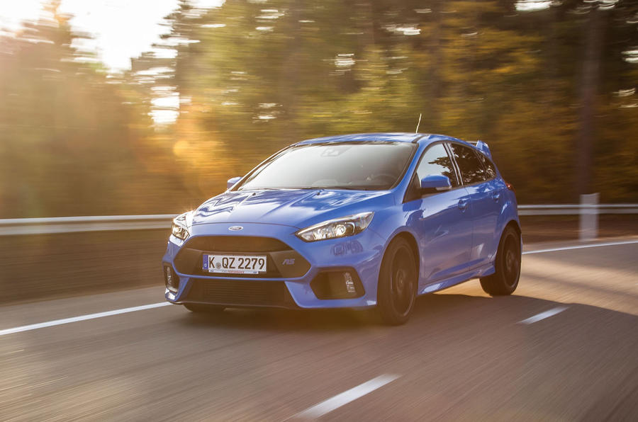 On the road Ford Focus RS