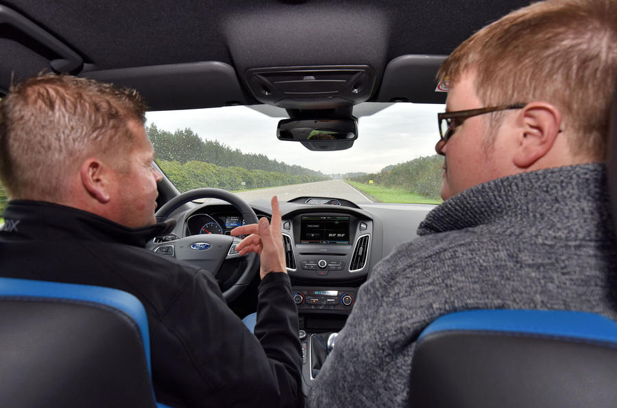 Driving the Ford Focus RS