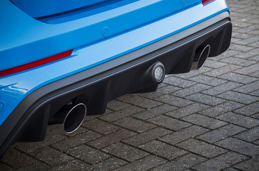 Ford Focus RS rear diffuser