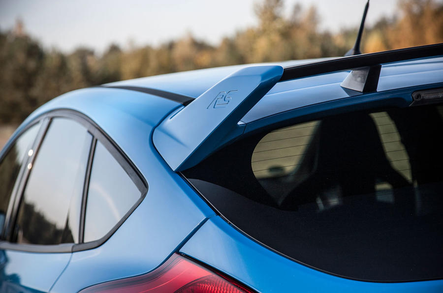Ford Focus RS rear wing