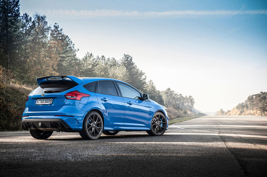 Hot hatch Ford Focus RS