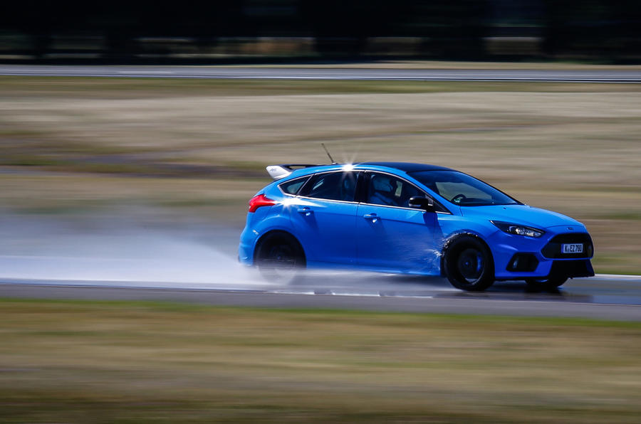 Ford Focus RS Option Pack on track