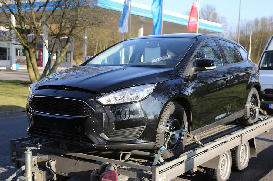 2018 Ford Focus development mule