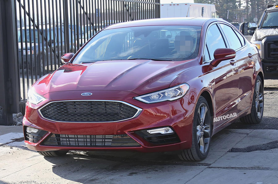 2017 Ford Fusion testing