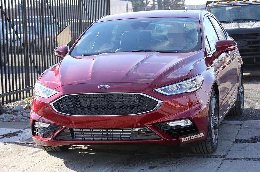Ford Fusion/Mondeo unveiled:: twin-turbo V6 headlines changes