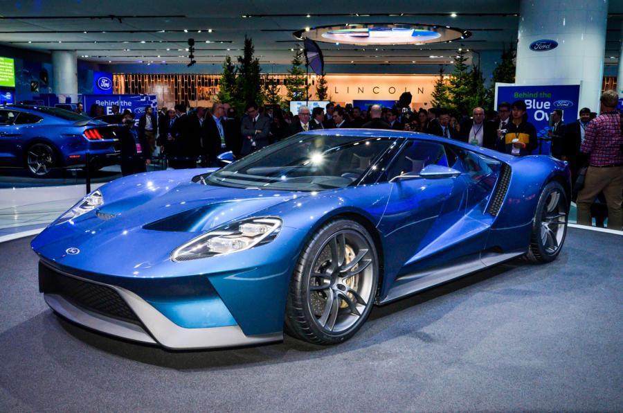 Ford GT Liquid Blue