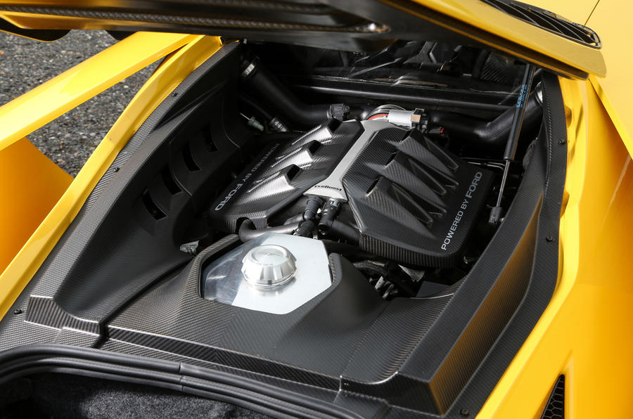 3.5-litre V6 Ford GT engine