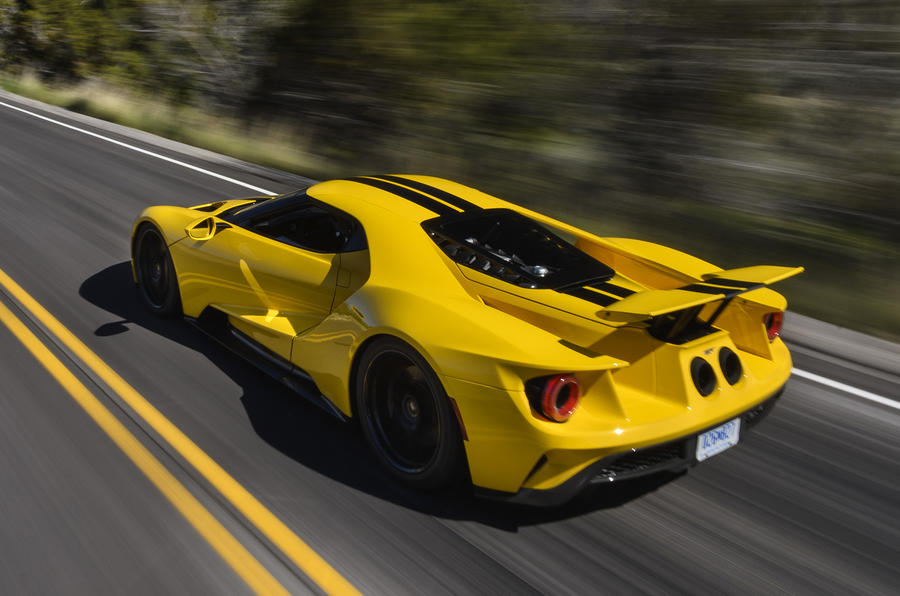 Ford GT gallery Ford s new 216mph supercar lands