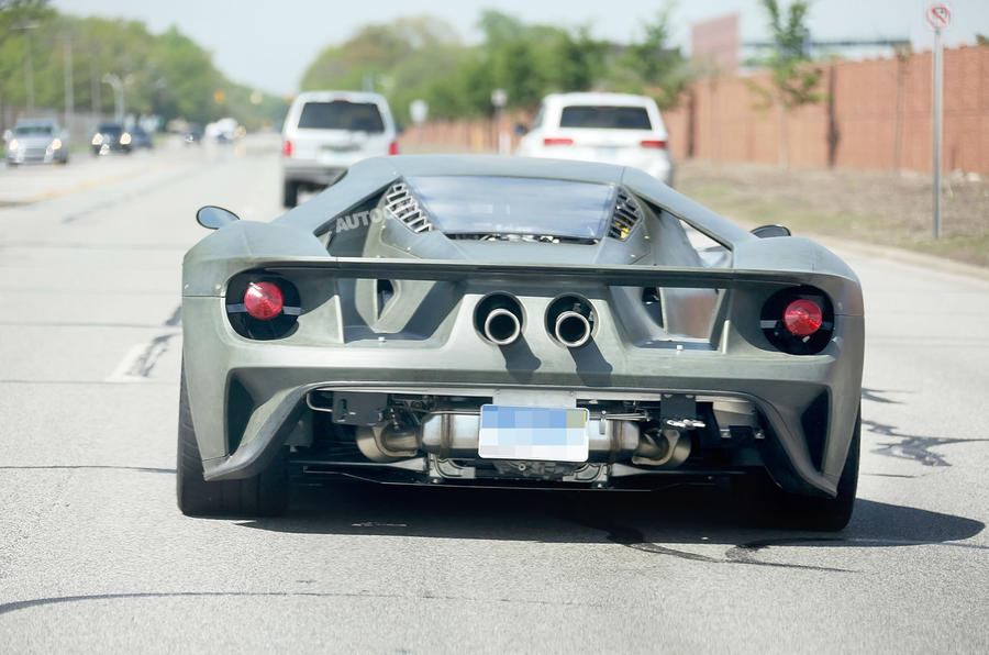 Ford Gt Fewer Than  Examples Per Year To Reach Britain Autocar