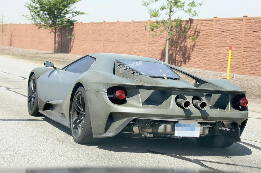 Ford Gt Fewer Than  Examples Per Year To Reach Britain