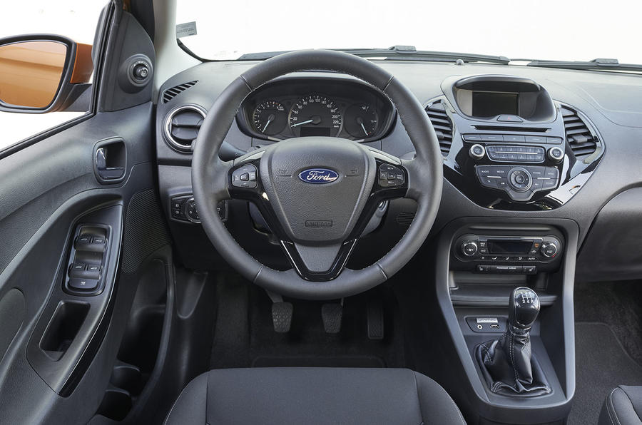 Ford Ka+ dashboard