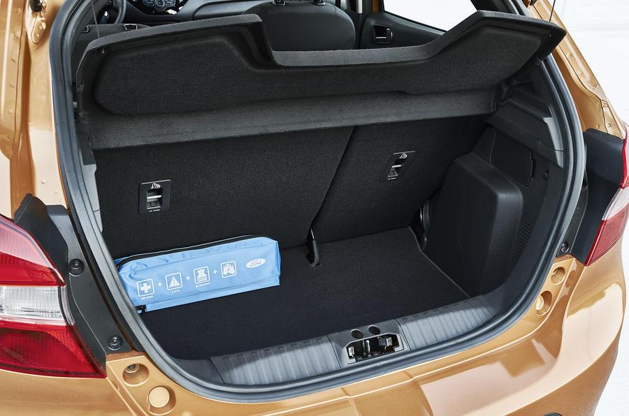 Ford Ka+ boot space
