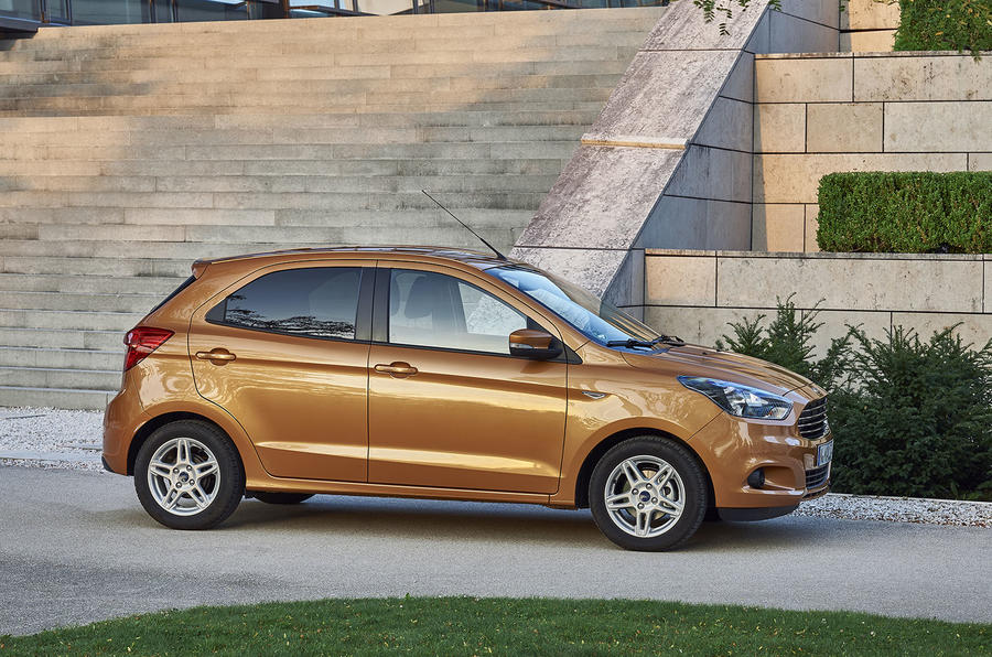 Ford Ka+ side profile