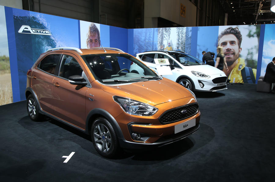 Ford Ka Revealed With New Active Model Andsel Option