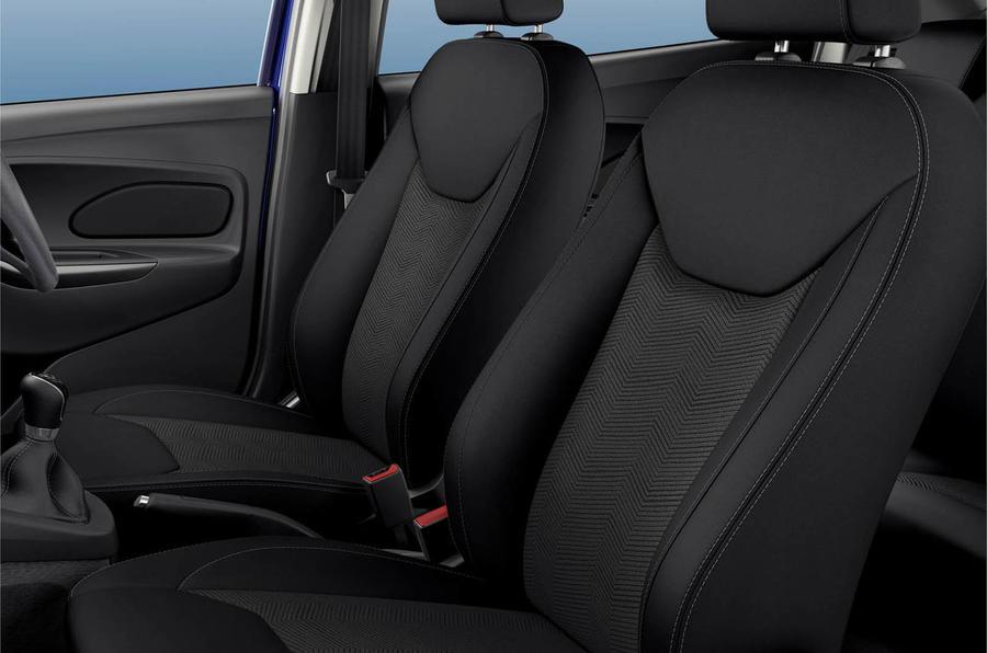 Ford Ka+ seats