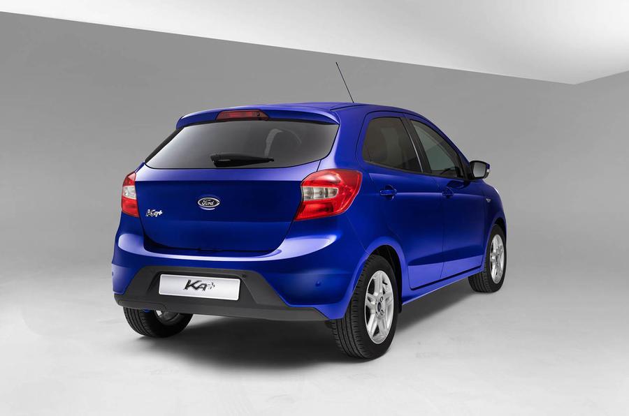 Ford Ka+ rear