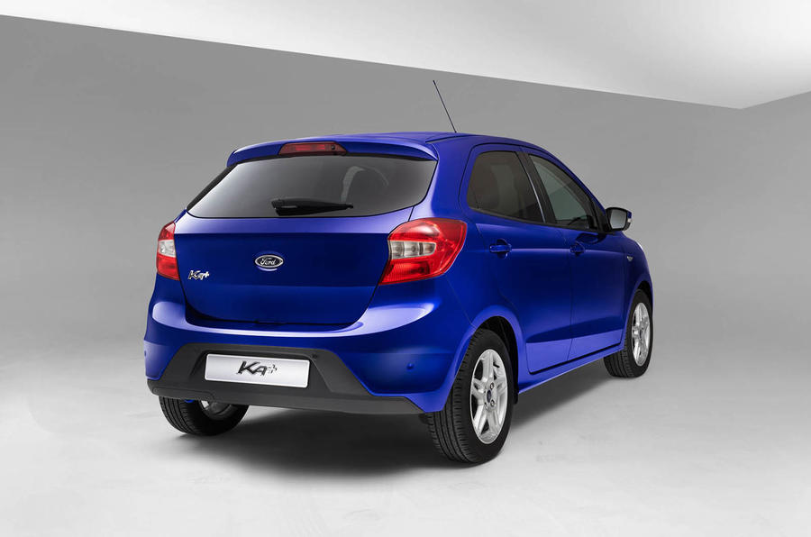 ... Ford Ka+ rear ... & New Ford Ka+ to cost from £8995 | Autocar markmcfarlin.com