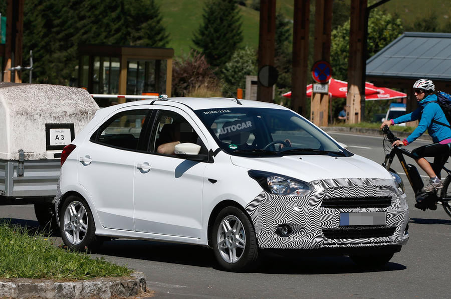 Ford Ka Spotted Testing