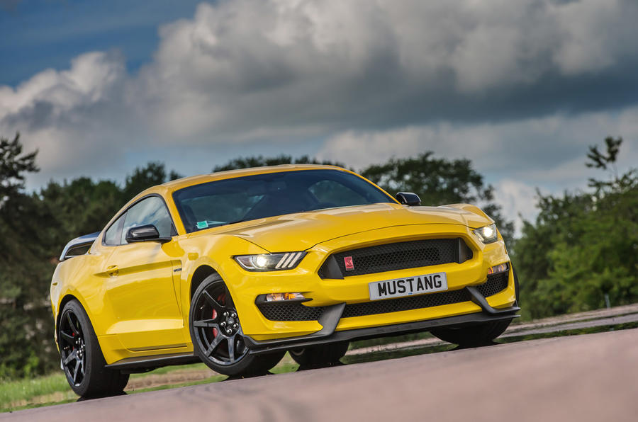 4 star Ford Shelby Mustang GT350R