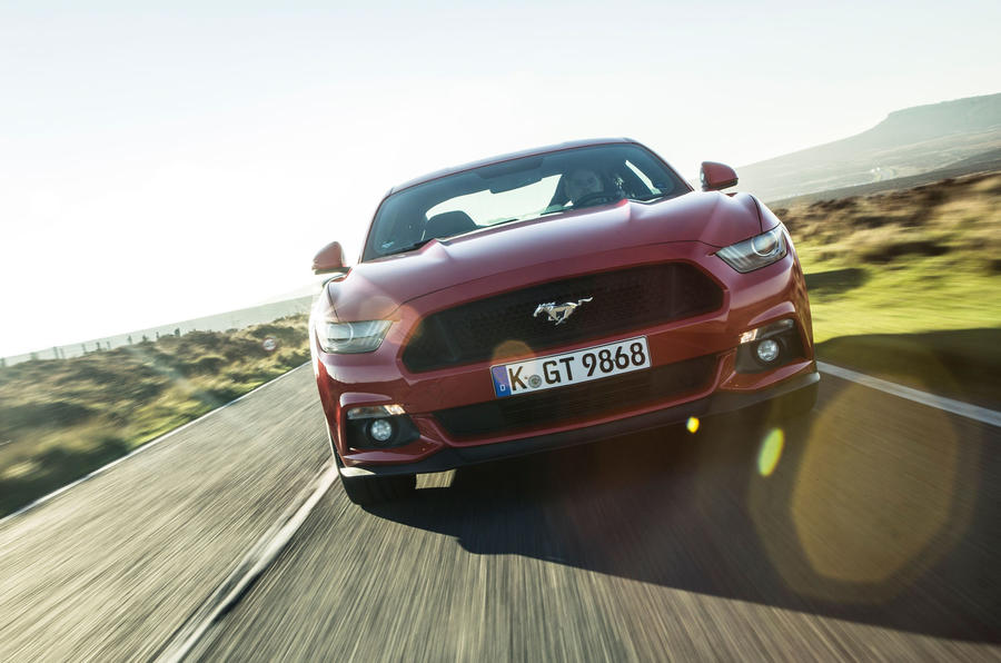 Ford Mustang front end