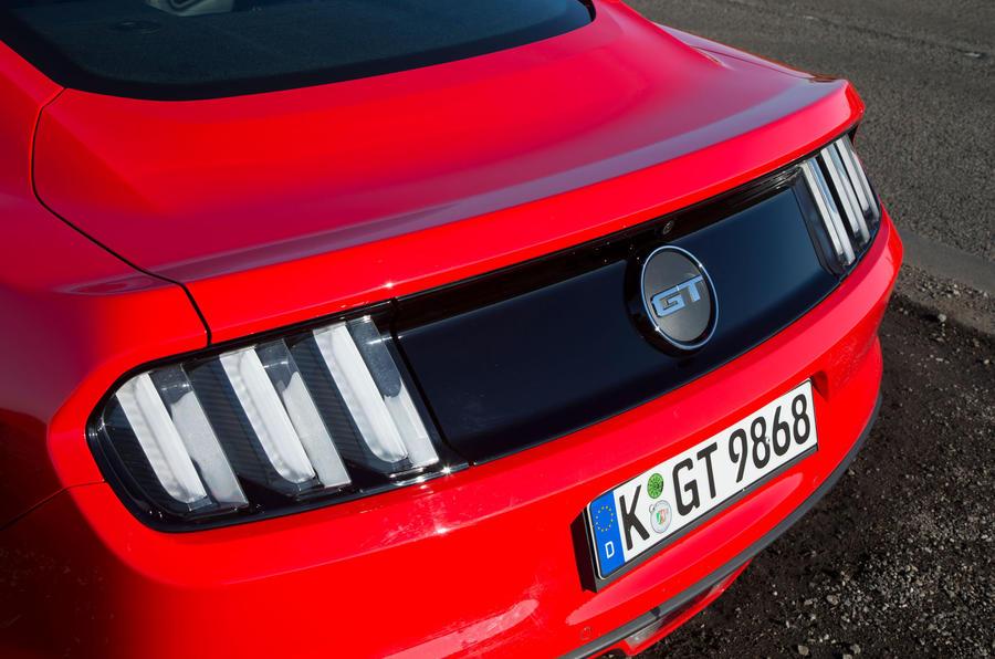 Ford Mustang rear lights