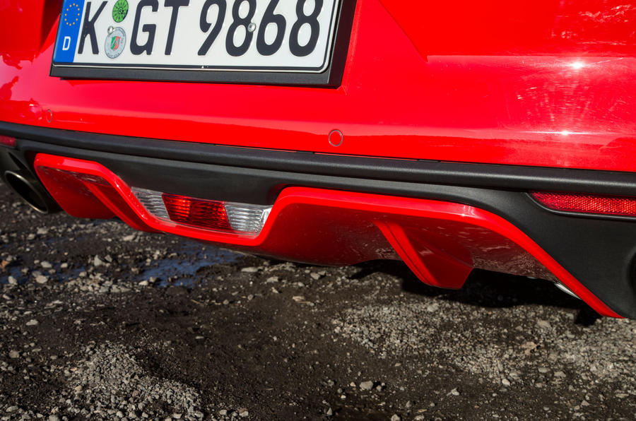 Ford Mustang rear diffuser