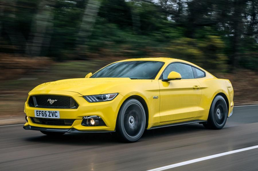 Ford Mustang 2015 tracking front