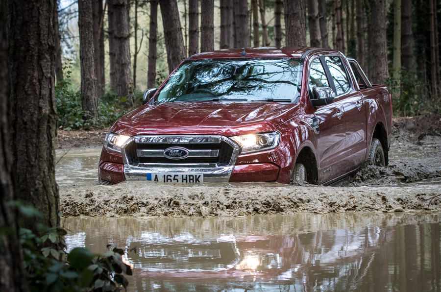 Ford Ranger Limited 2 wading