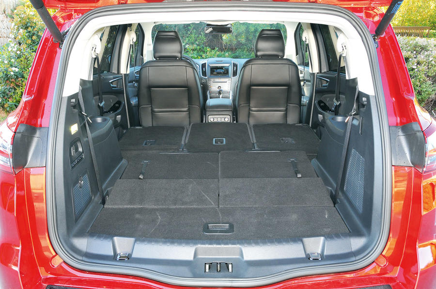 Ford S Max Extended Boot Space