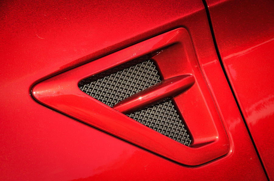 Ford S-Max air vents