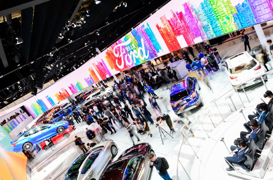 Ford stand at Beijing motor show