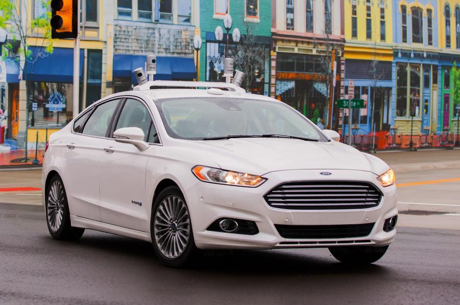 Ford Mondeo autonomous test fleet