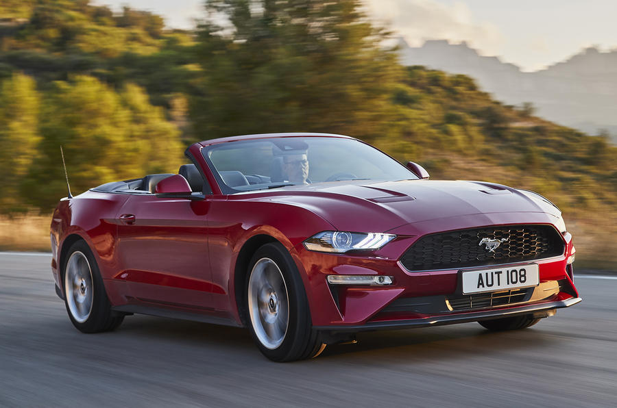 2018 ford mustang revealed with comprehensive updates autocar. Black Bedroom Furniture Sets. Home Design Ideas