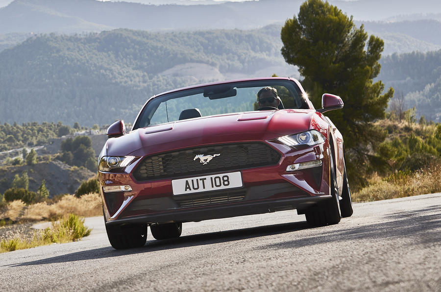 2018 ford uk. contemporary ford 2018 ford mustang revealed with comprehensive updates to ford uk r