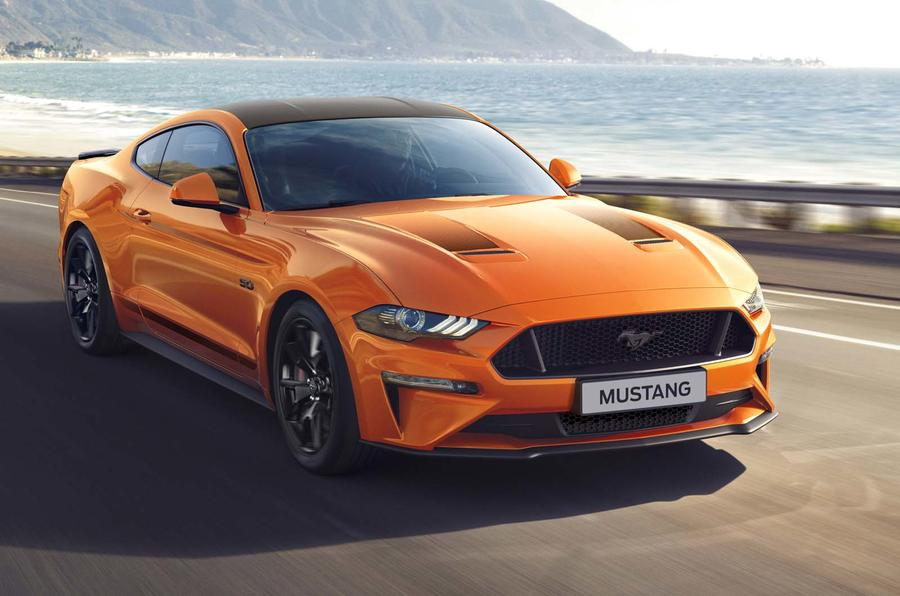 special edition marks  years   ford mustang autocar