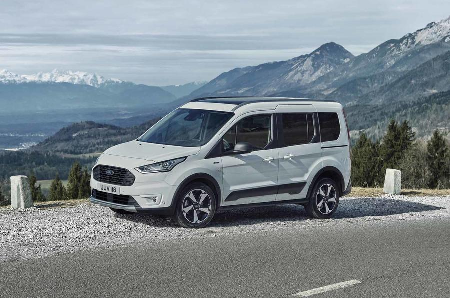 Ford Tourneo Connect Active front static