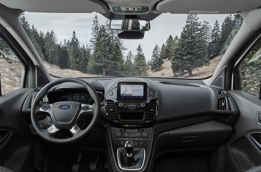 Ford Tourneo Connect Active dashboard
