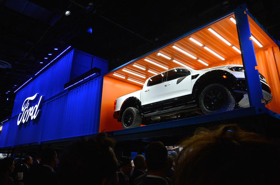 Ford Booth, Detroit motor show 2019