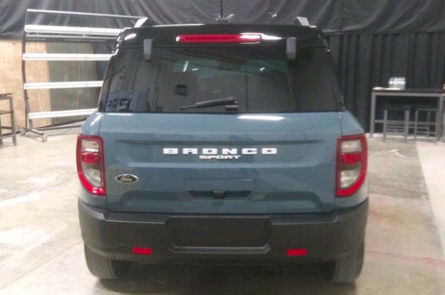 2021 Ford Bronco Sport leak rear