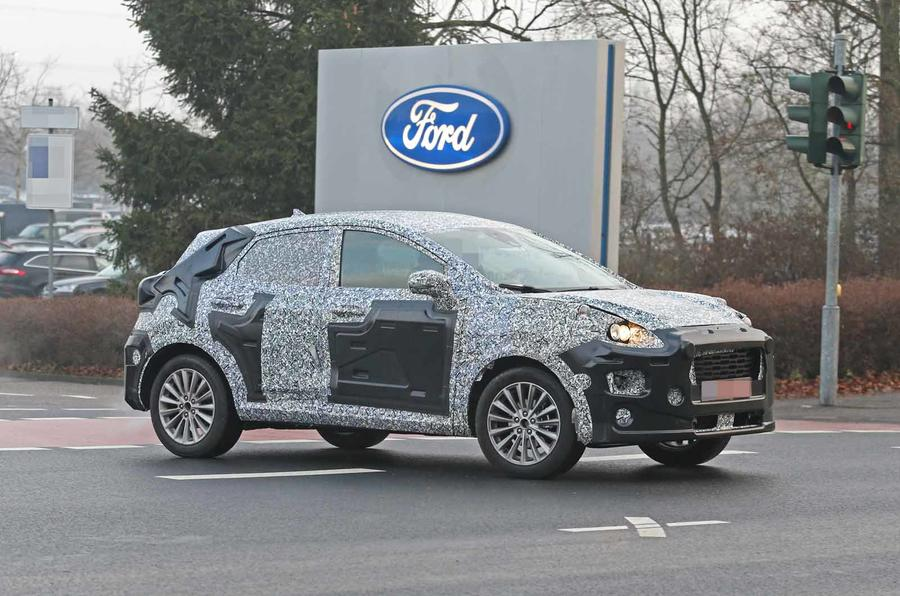 Ford Fiesta-based SUV