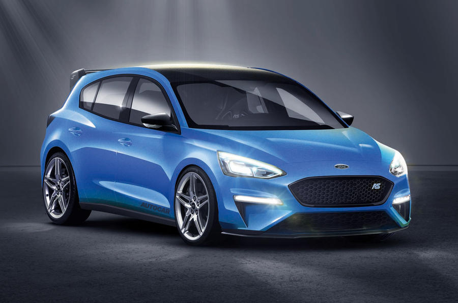 2020 Ford Focus Rs To Have 400bhp 425lb Ft Mild Hybrid