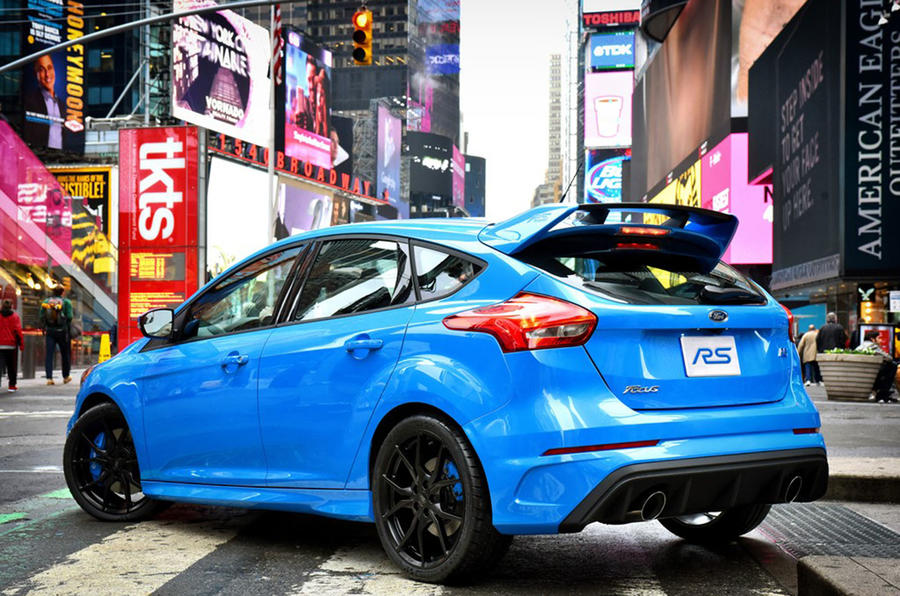2016 ford focus rs - engine, on-sale date and new video