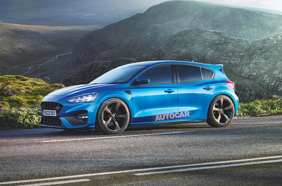 2022 Ford Focus RS render - side