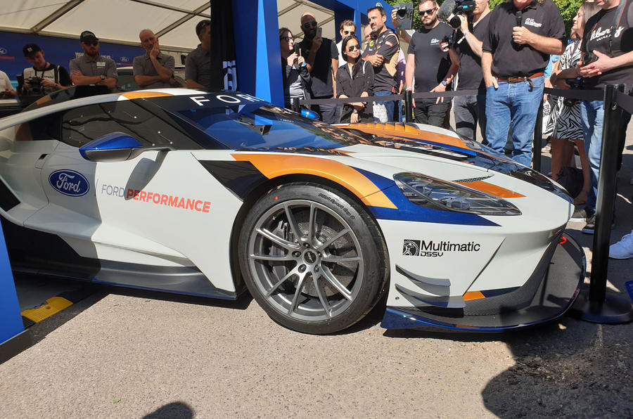Ford GT Mk II Goodwood Festival of Speed reveal - 8