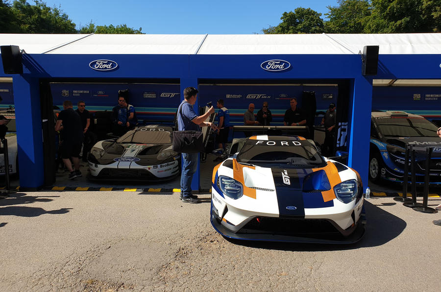 Ford GT Mk II Goodwood Festival of Speed reveal - 1
