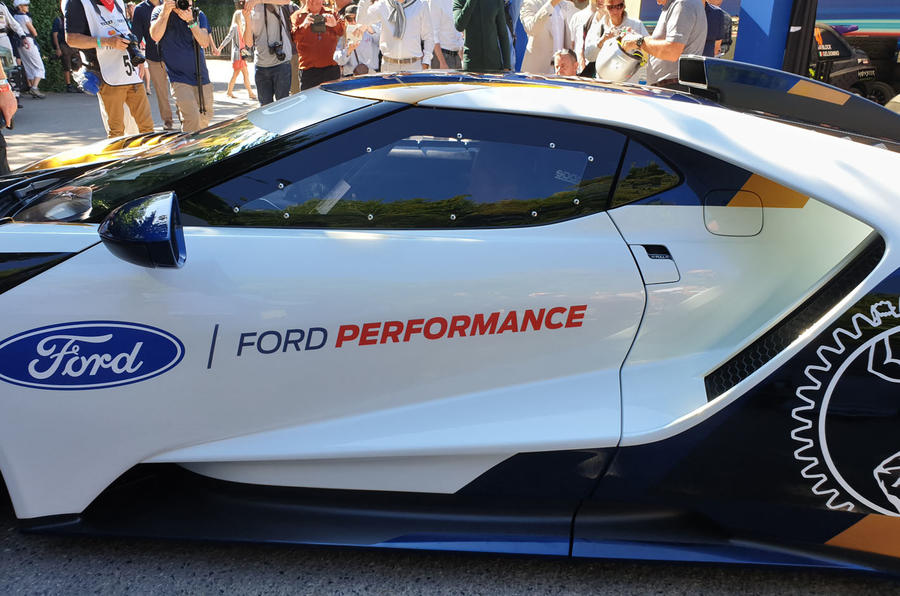 Ford GT Mk II Goodwood Festival of Speed reveal - 3