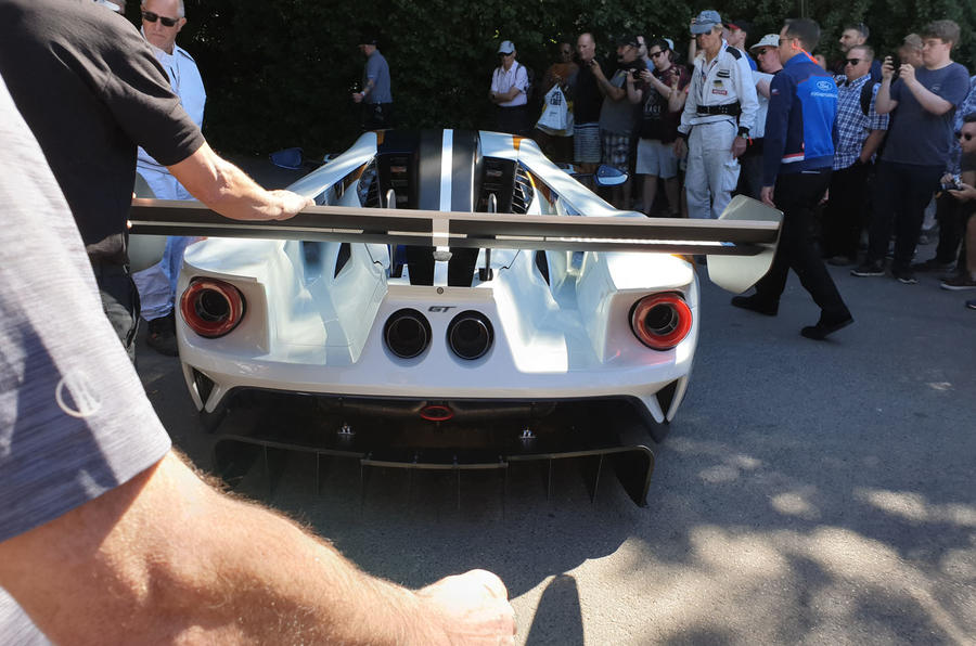 Ford GT Mk II Goodwood Festival of Speed reveal - 4