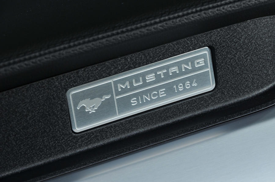 Ford Mustang Convertible plaque
