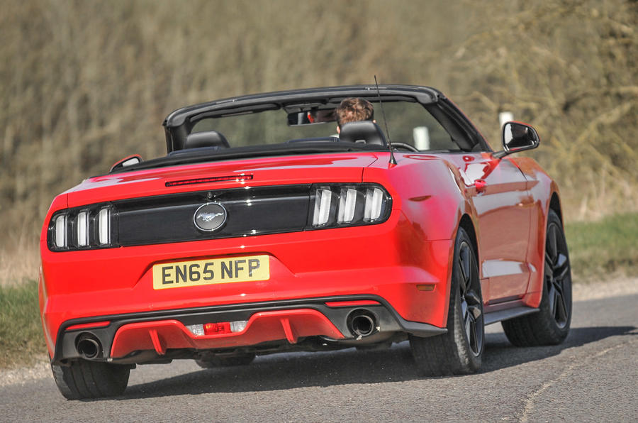£35,995 Ford Mustang 2.3 Ecoboost Convertible