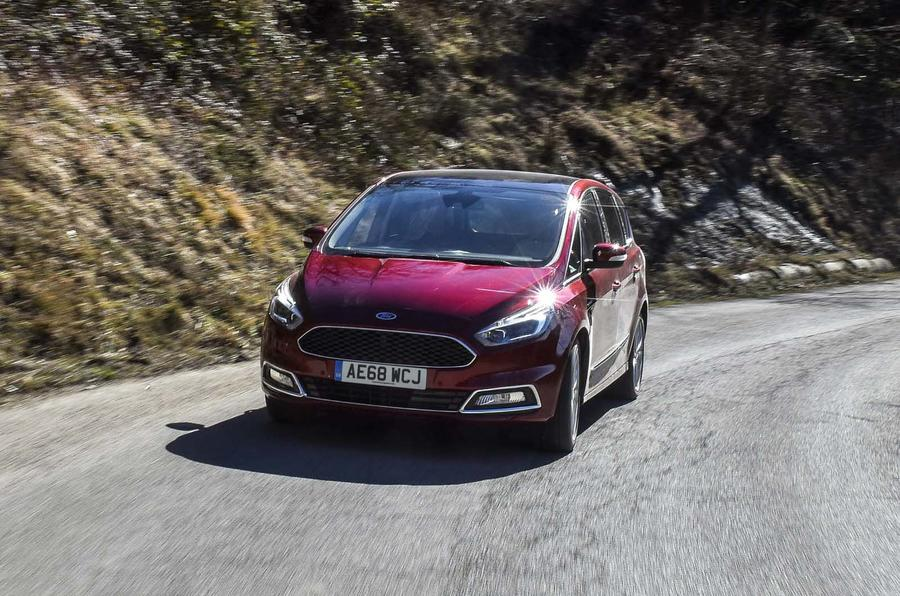 Ford S Max 2018 new diesel engine update cornering
